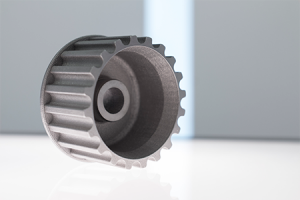 Oil pump gear, 3D printed for English Racing by MTI